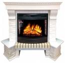 Портал Royal Flame Pierre Luxe белый сланец угловой для очага Dioramic 25 в Уфе