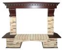 Портал Royal Flame Pierre Luxe сланец угловой для электрокаминов в Уфе